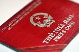 Điều kiện, tiêu chuẩn được xét cấp thẻ nhà báo