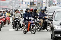 Các hành vi bị nghiêm cấm trong lĩnh vực giao thông đường bộ
