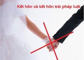 Căn cứ hủy việc kết hôn trái pháp luật