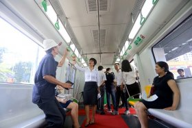 Quyền và trách nhiệm của hành khách đi tàu đường sắt đô thị