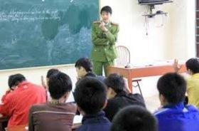 Đối tượng áp dụng biện pháp đưa vào trường giáo dưỡng