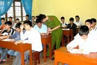 Thủ tục cho học sinh trường giáo dưỡng ra trường