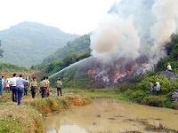 Trách nhiệm báo cháy chữa cháy và tham gia chữa cháy rừng chỉ huy chữa cháy rừng