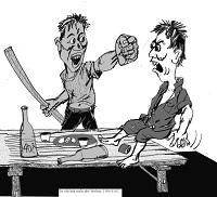 Xử lý hành vi đánh người gây thương tích