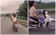Buông cả hai tay khi đang điều khiển xe máy bị phạt bao nhiêu?