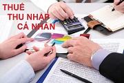 Căn cứ tính thuế thu nhập cá nhân đối với cá nhân kinh doanh
