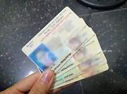 Cấp mới giấy phép lái xe