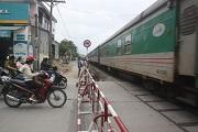 Hành lang an toàn giao thông đường sắt tại khu vực đường ngang