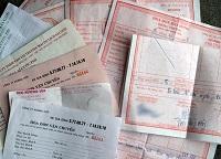 Hành vi vi phạm quy định về mua hóa đơn
