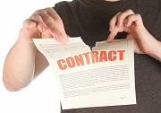 Khi hợp đồng bị hủy bỏ thì dẫn đến hậu quả gì?