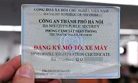 Không có giấy đăng ký xe bị phạt bao nhiêu?