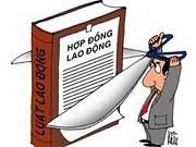 Không ghi rõ các quyền và nghĩa vụ về tài chính trong hợp đồng ký với người lao động
