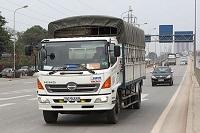 Không gián logo xe tải thì bị xử phạt như thế nào