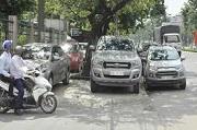 Mức phạt lỗi dừng, đỗ xe ô tô tại điểm dừng của xe buýt từ năm 2020