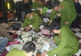 Tội tổ chức đánh bạc