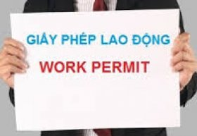 Trình tự cấp giấy phép lao động