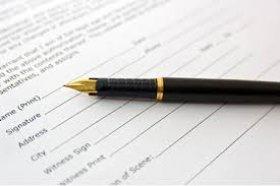 Công chứng hợp đồng, giao dịch soạn thảo sẵn