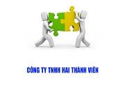 Số lượng thành viên tối đa của công ty TNHH hai thành viên trở lên