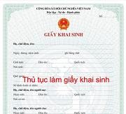 Sử dụng giấy tờ của người khác để làm giấy khai sinh