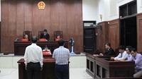 Tạm ngừng phiên tòa xét xử sơ thẩm vụ án dân sự