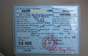 Tẩy xóa, sửa chữa giấy đăng ký xe ô tô bị xử phạt như thế nào?