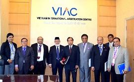 Thành lập Hội đồng trọng tài tại Trung tâm trọng tài