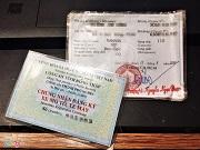 Thời hạn sử dụng giấy chứng nhận đăng ký xe