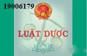 Tư vấn Luật dược – gọi 19006179