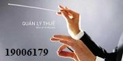 Tư vấn Luật quản lý thuế - gọi 19006179