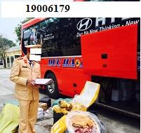 Vận chuyển hàng có mùi hôi thối trên xe chở hành khách bị phạt bao nhiêu?
