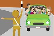 Xe khách chở quá số người quy định bị xử phạt thế nào?