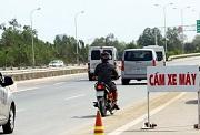 Xe máy đi vào đường cao tốc bị phạt bao nhiêu?